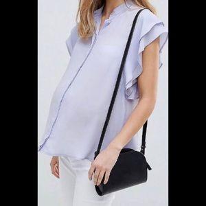 ASOS Maternity frill sleeve blouse